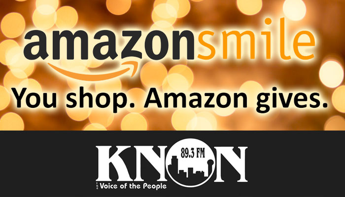 Support KNON with Amazon Smile!
