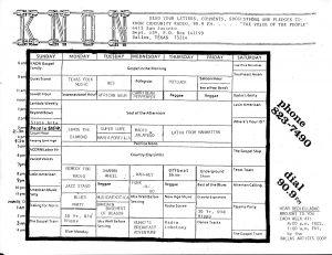 knon-schedule-850101