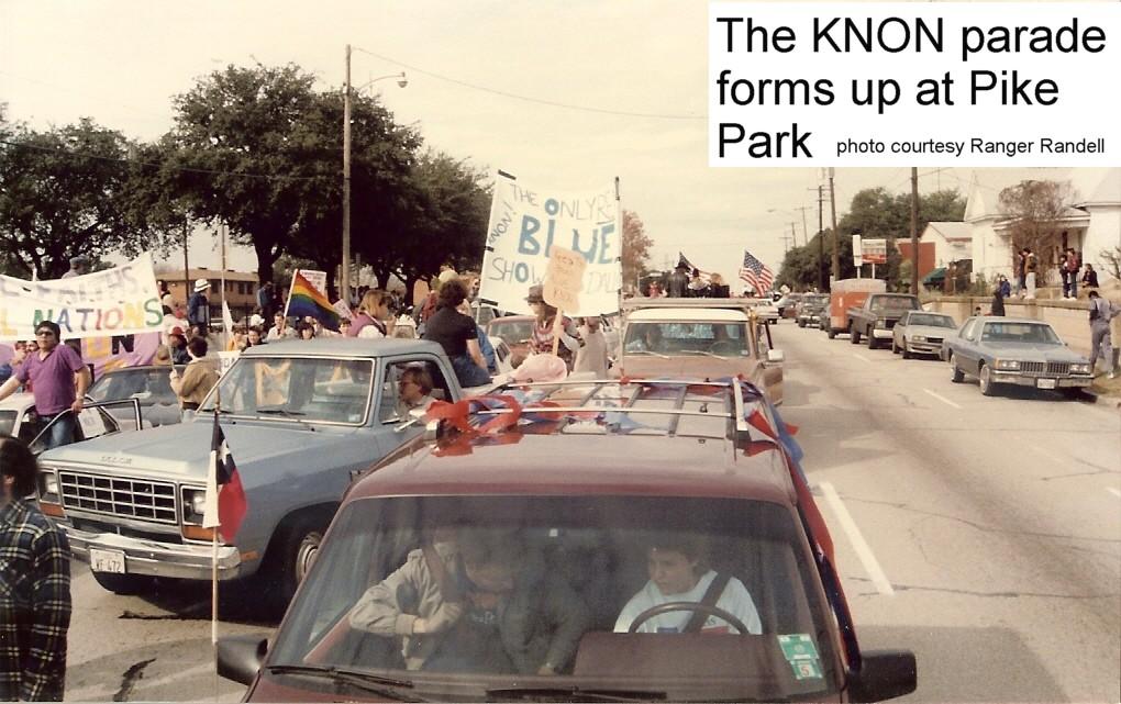 December 6, 1986 The KNON Parade