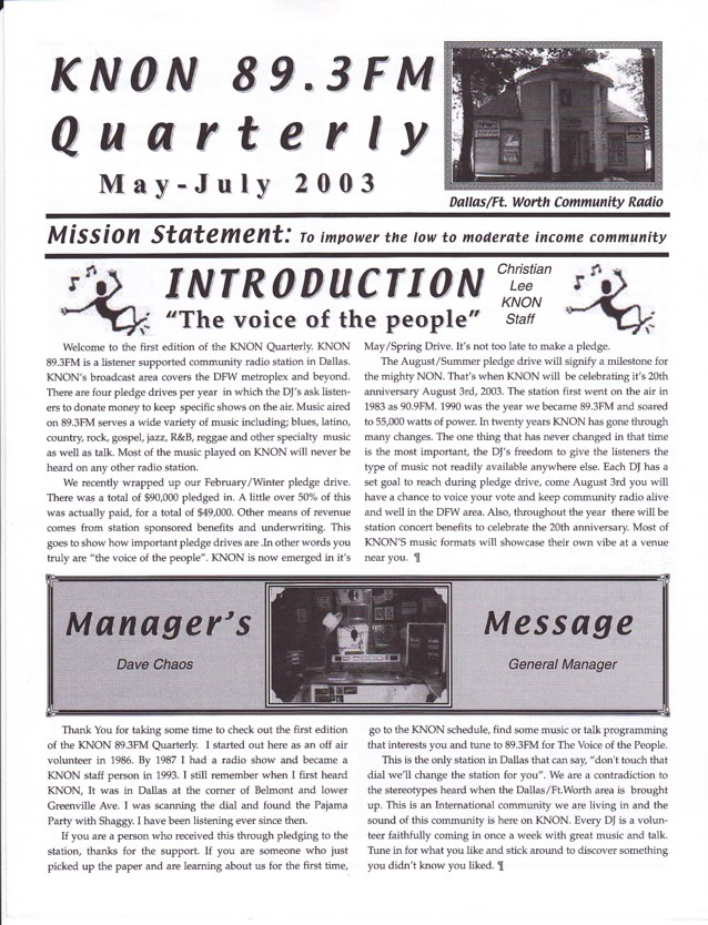 knon-quarterly-may-2003-p1
