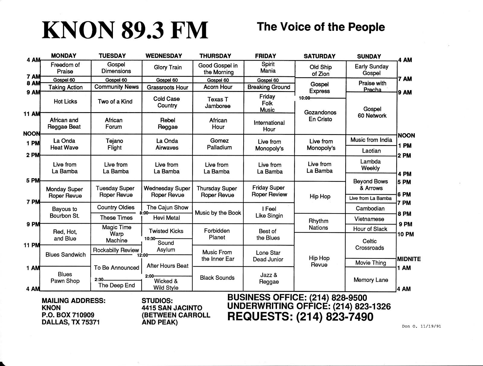 knon-schedule-911119