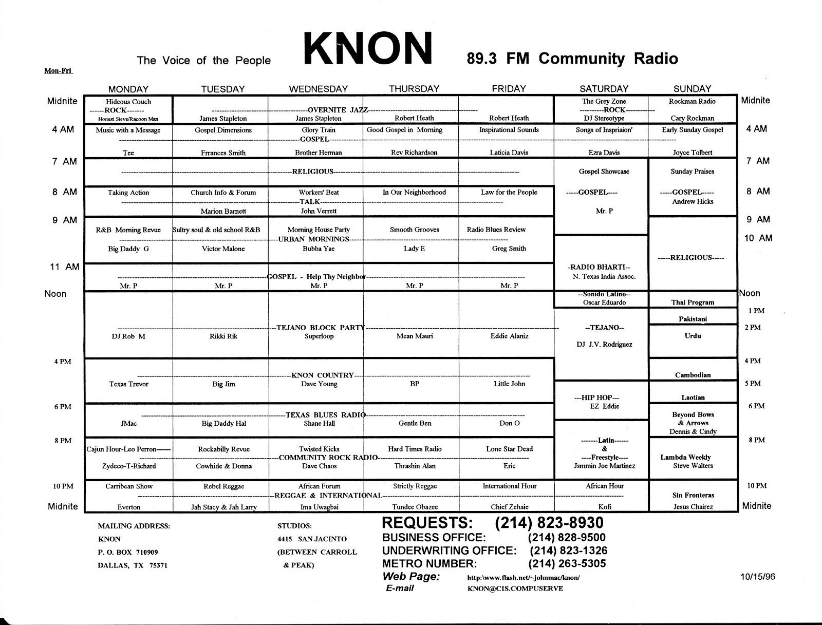 knon-schedule-961015