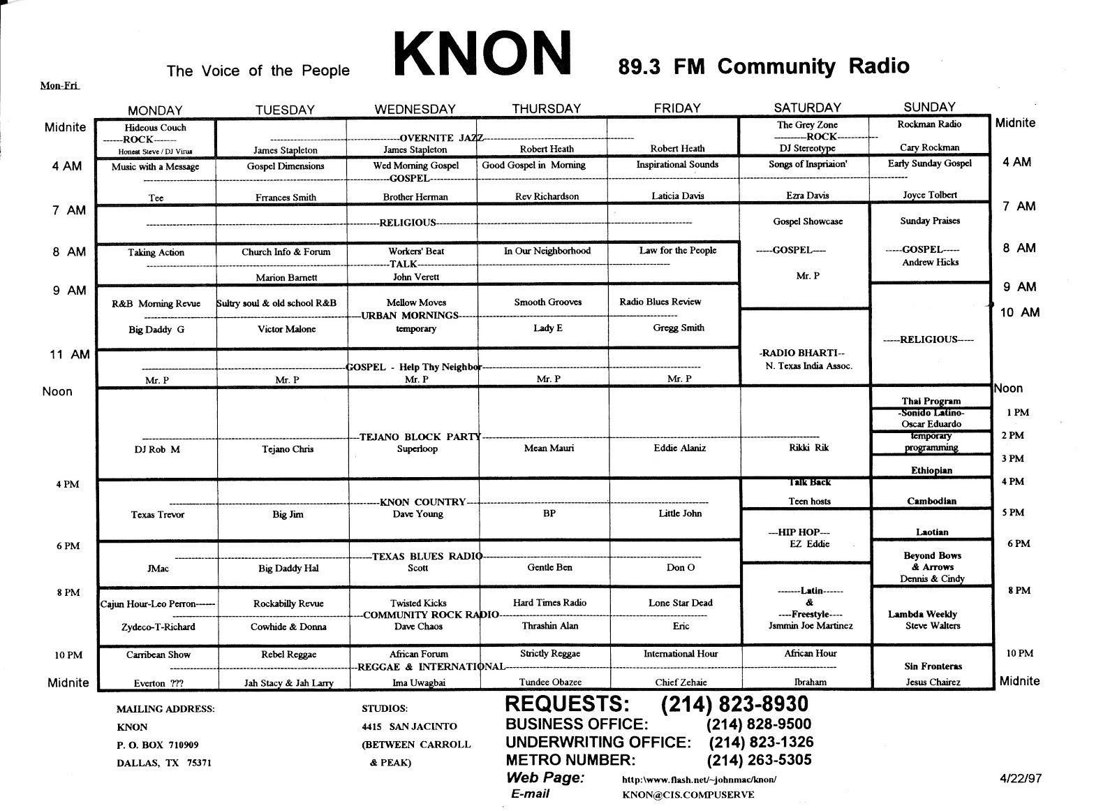 knon-schedule-970422