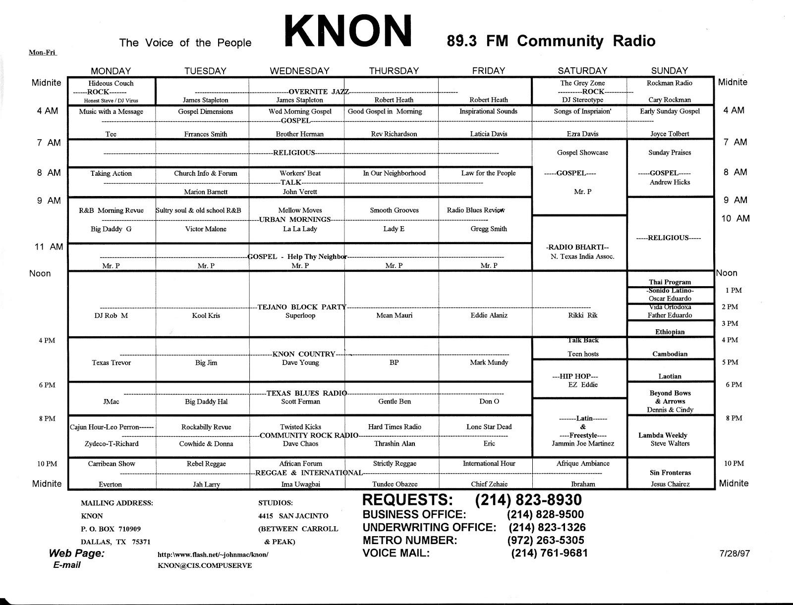 knon-schedule-970728