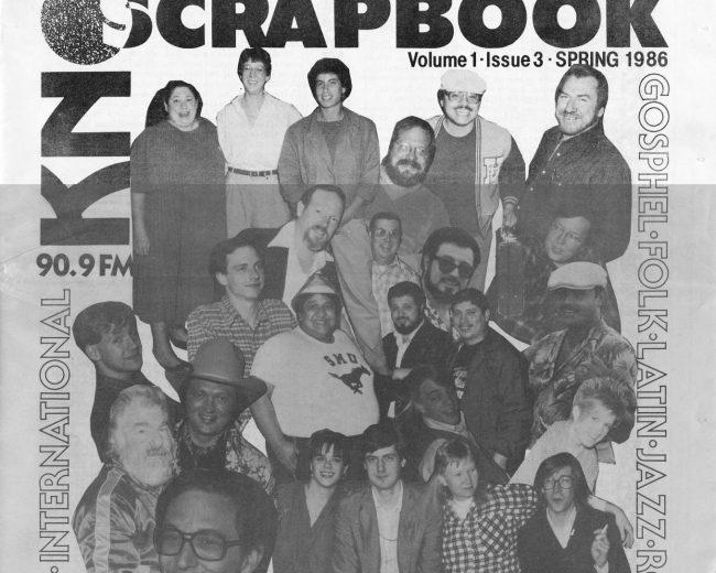 KNON Scrapbook, Volume 3,1986