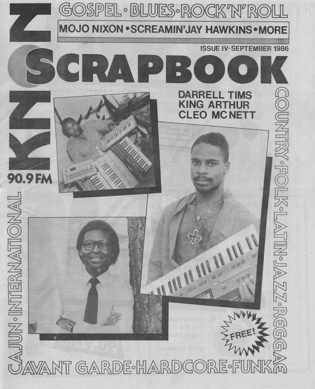KNON Scrapbook, Volume 4, 1986