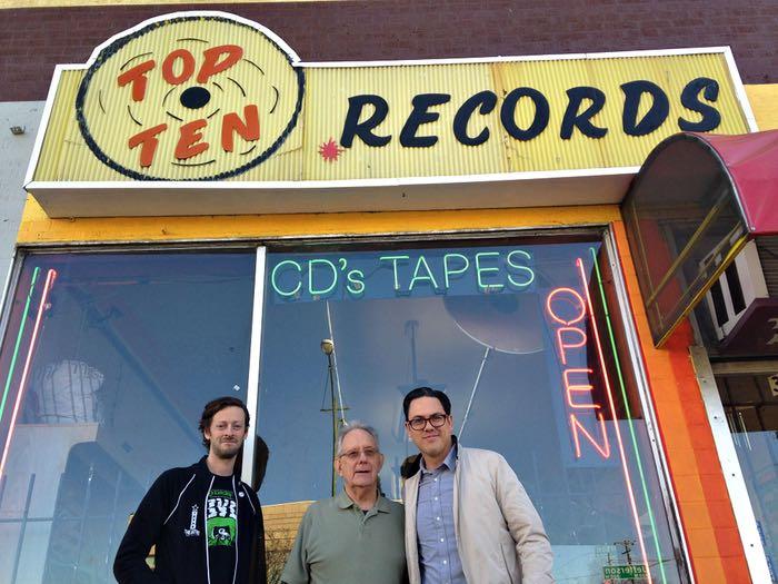 Top Ten Records new and past operators