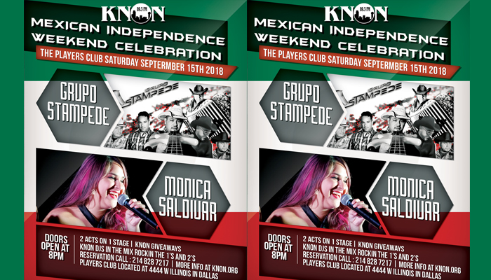 KNON Presents 2 Bands on 1 Stage