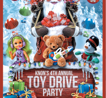 KNON's 4th Annual Toy Drive