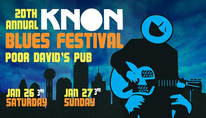 KNON's 20th Annual Blues Festival