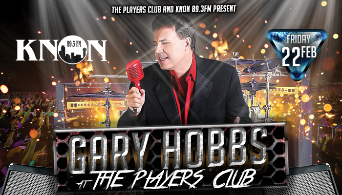 KNON presents Gary Hobbs Live at Players Club