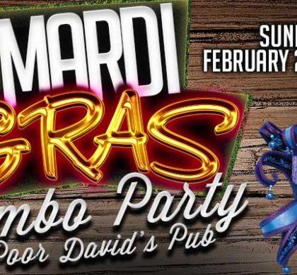 KNON 18th Annual Mardi Gras Gumbo Party