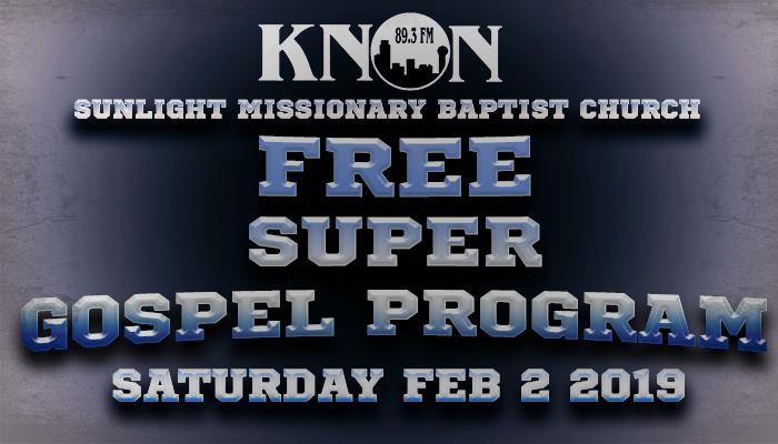 Super Gospel Program