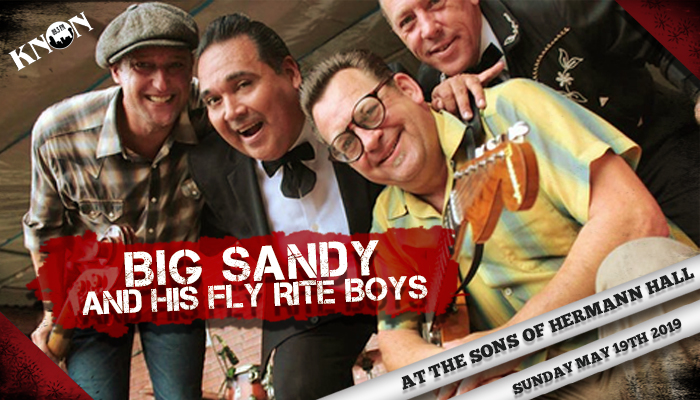 KNON 89.3FM Presents Big Sandy and His Fly Rite Boys