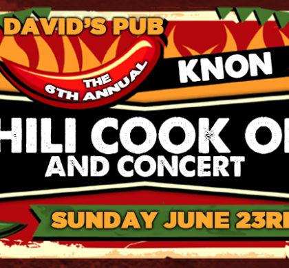 KNON's 6th Annual Chili Cook Off and Concert