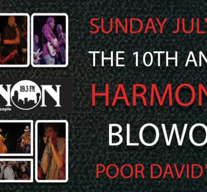 10th Annual Harmonica Blowout