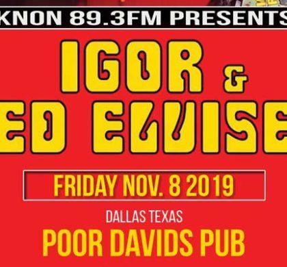 KNON Presents: Igor & The Red Elvises