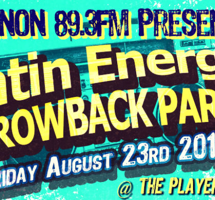 KNON Latin Energy Throwback Party!!