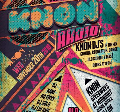 KNON Presents An Old School Party