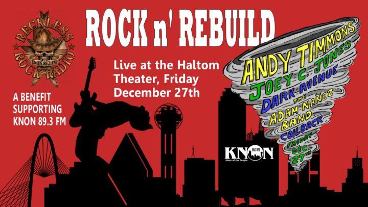 KNON's Rock N' Rebuild