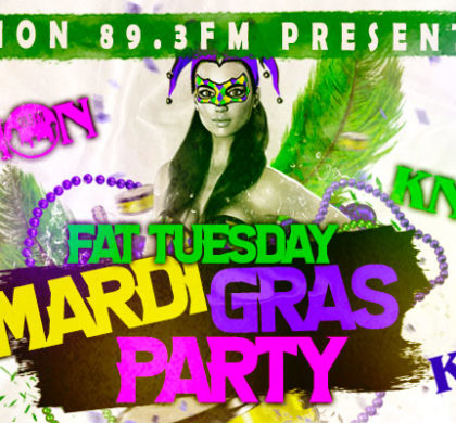 KNON Fat Tuesday Mardi Gras Party