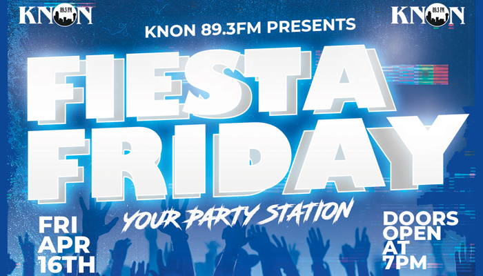 KNON Presents Fiesta Friday at the Players Club