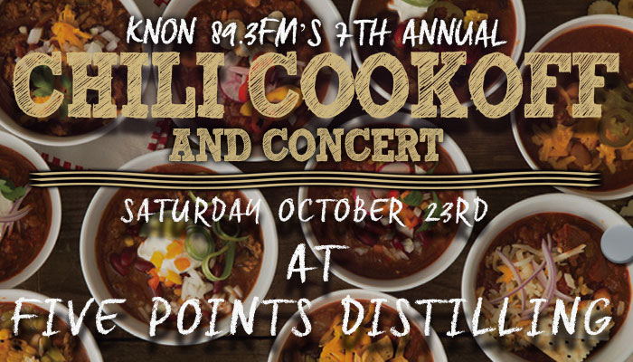 KNON's 7th Annual Chili Cook Off and Concert