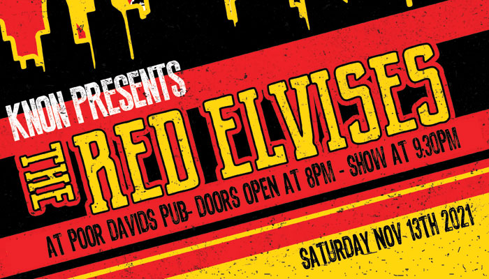 KNON Presents Igor and The Red Elvises